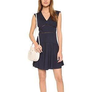 Rebecca Taylor Dresses - Rebecca Taylor navy blue fit and flare dress